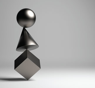3 objects balancing