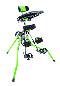 Bright green Zing Portable stander